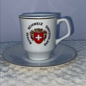 Other - Switzerland Teacup & Saucer
